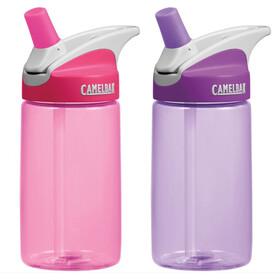 CamelBak Eddy Bottle Kids 400ml 2-Pack Pink/Lilac